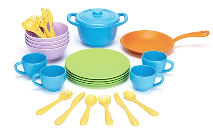 Green Toys Servies en Pannenset ' Cookware & Dining'