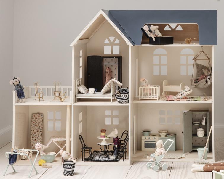super goedkoop aanbod verschillende stijlen Maileg Extra Kamer voor Poppenhuis, House of miniature ...