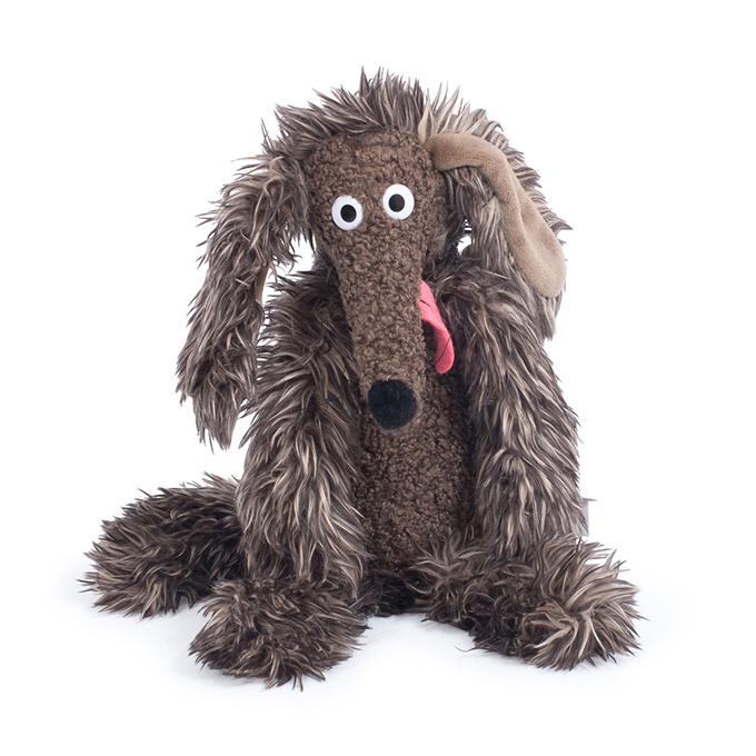 "Moulin Roty Knuffel Hond 'Chien Pourri / Stinkhond"", Klein, 32cm"