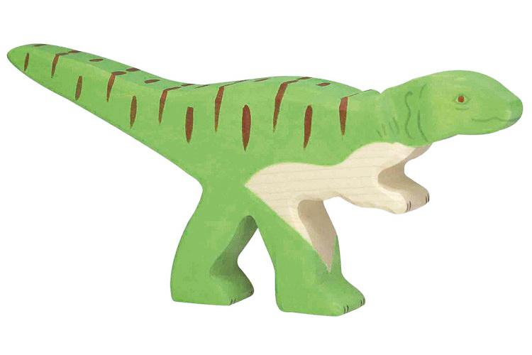 Holztiger Houten dino Allosaurus
