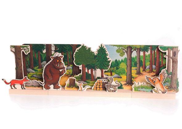 Bajo Gruffalo houten theater