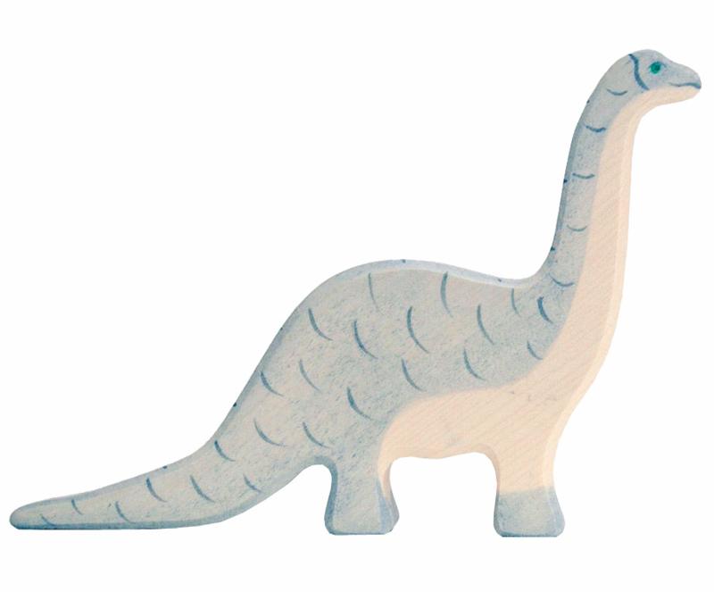 Holztiger Houten dino Brontosaurus