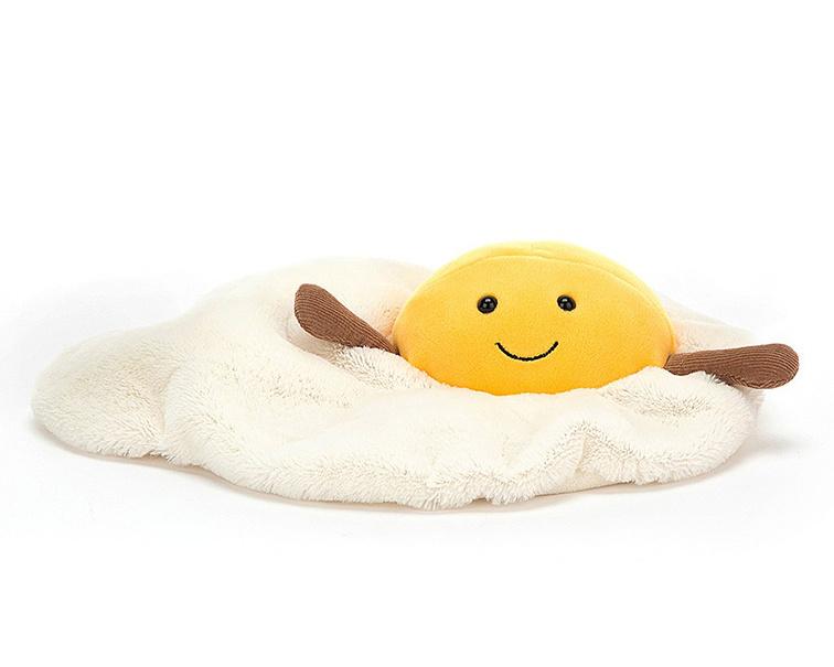 Jellycat Knuffel Gebakken Ei, Amuseable Fried Egg, 27cm