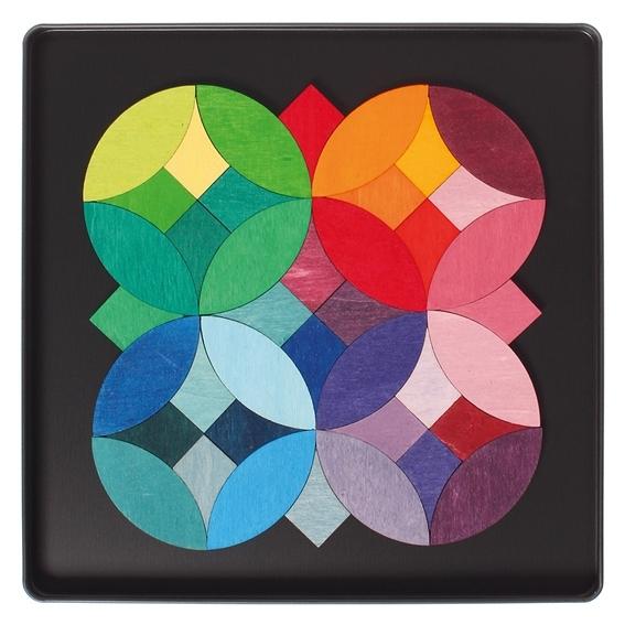 Grimm's Magneetpuzzel Grafische Cirkels