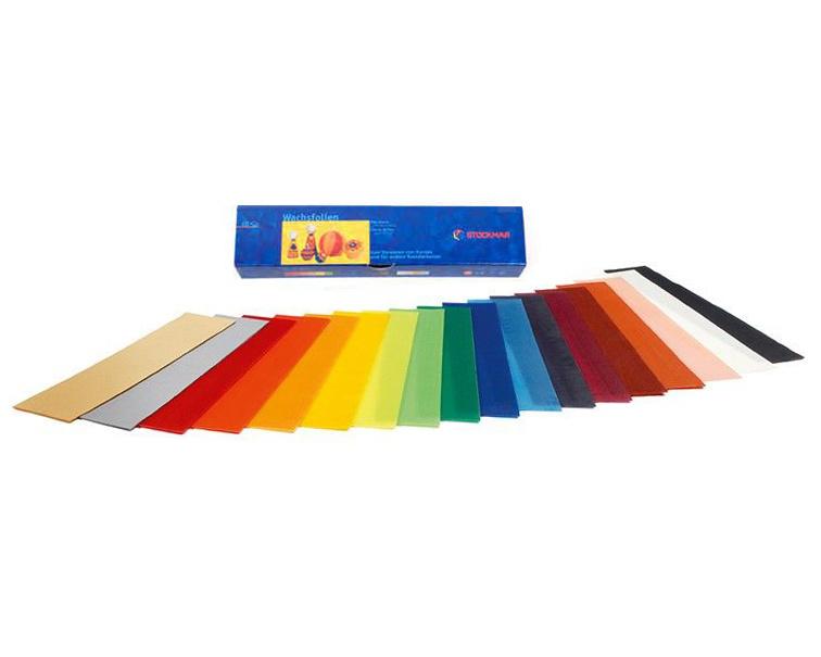 Stockmar Bijenwas Versierwas 18 kleuren