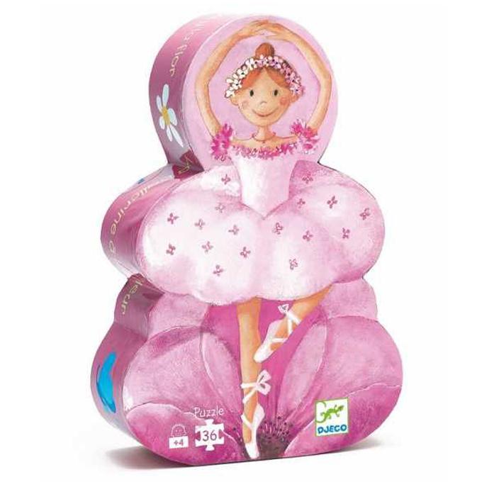 Djeco puzzel Ballerina, 36 st, 42x30 cm