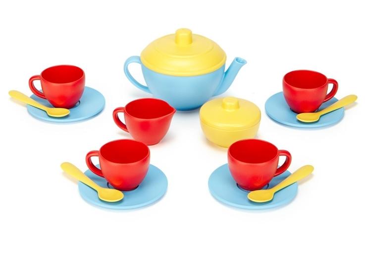 Green Toys Theeservies 'Tea Set blue'