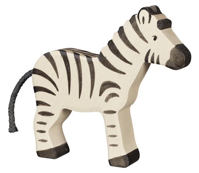 Holztiger Houten Zebra