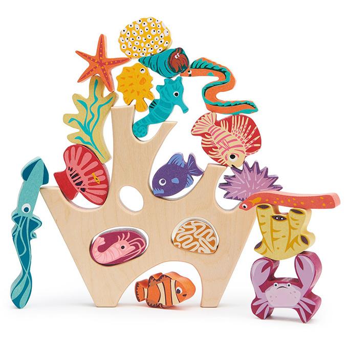 Stapeltoren Koraalrif - Tender Leaf Toys