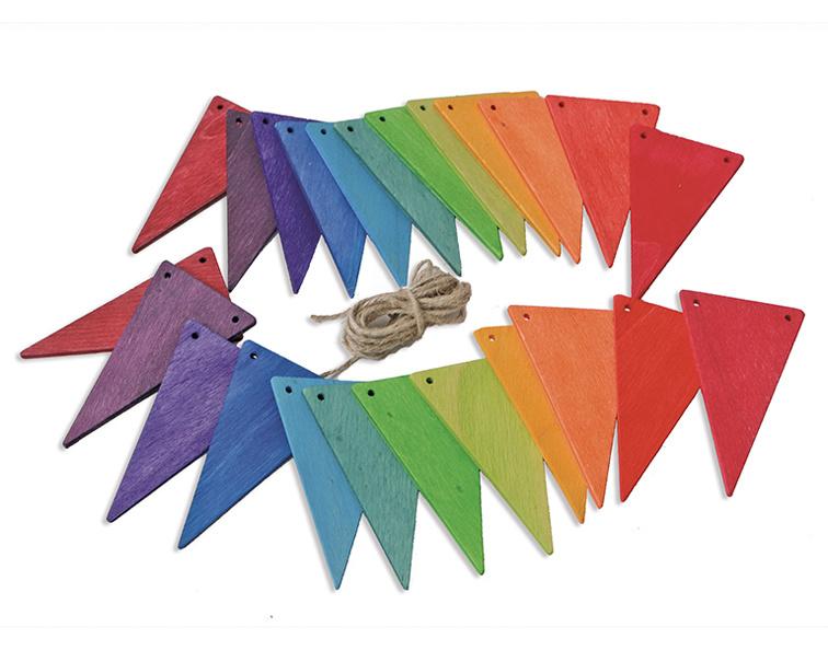 Grimm's Houten Vlaggenlijn