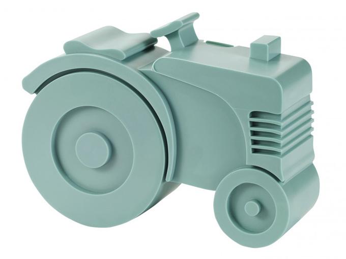 Blafre Lunchtrommel Tractor blauwgroen