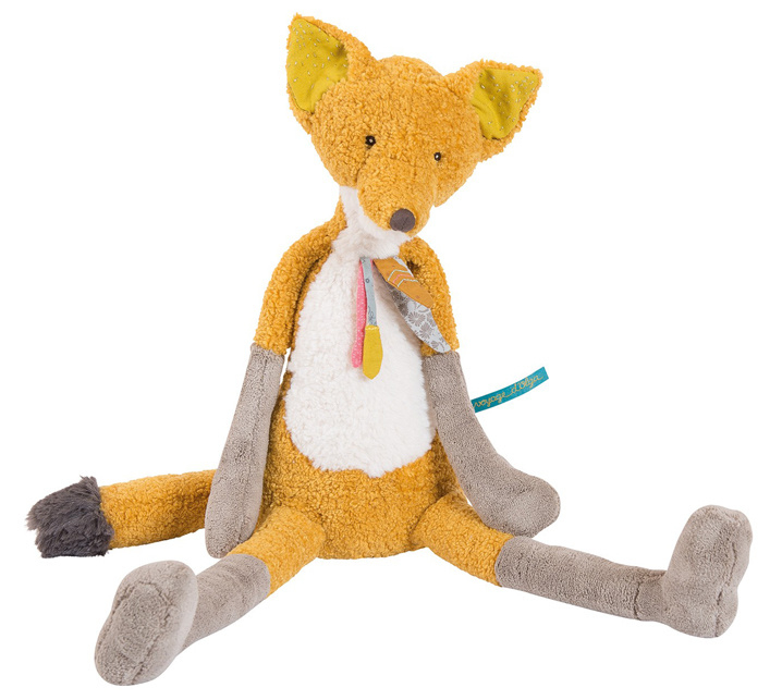Moulin Roty Knuffel Grote Vos Chaussette, 56 cm