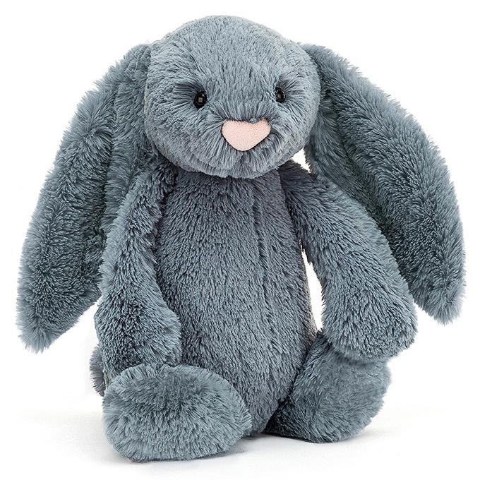 Jellycat Knuffel Konijn 31cm, Bashful Dusky Blue Bunny