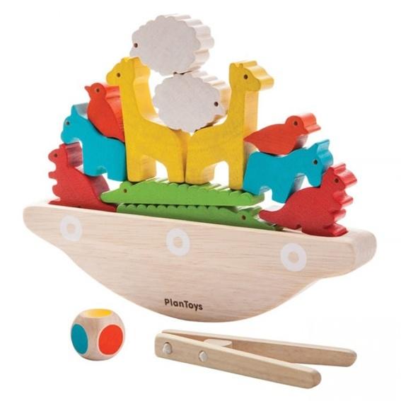 Plan Toys Balanceerboot, Ark van Noach