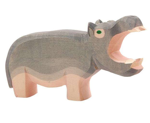 Ostheimer Houten Nijlpaard met open bek