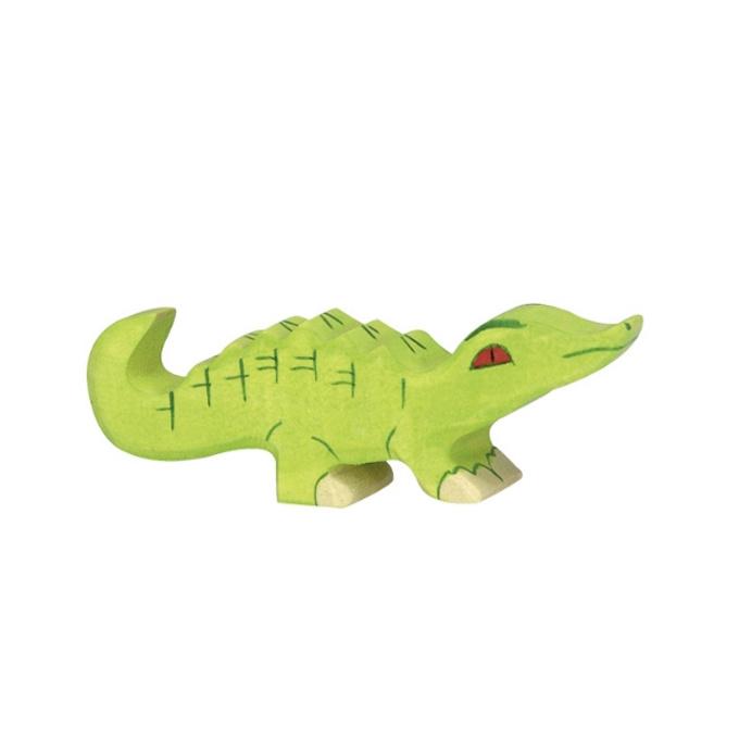 Holztiger Houten Krokodil klein