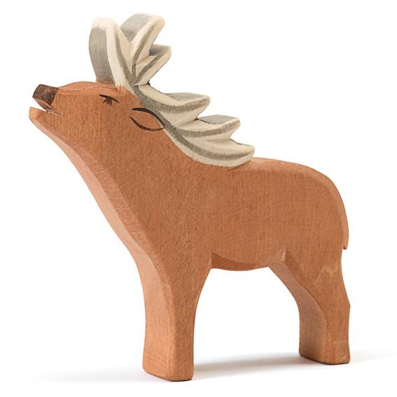 Ostheimer Houten Hert met gewei