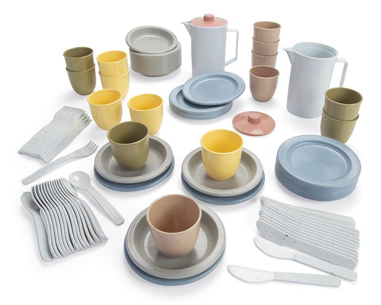 Dantoy Bioplastic Lunch Set, 94-Delig