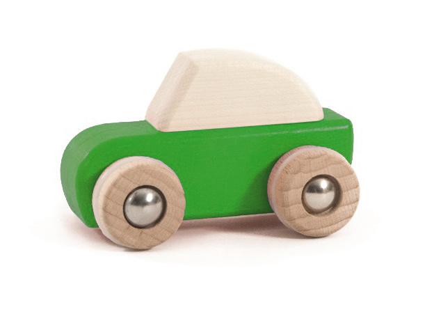 Bajo Houten Pullback auto, groen