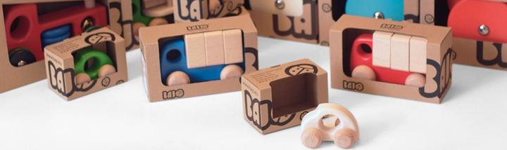 Bajo houten speelgoed