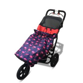 flamingo regen hoes kids child rolstoel speciale buggy