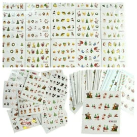 40 kerst sheets nail art stickers