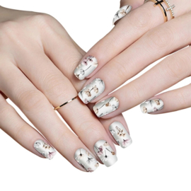 Nail art nagel sticker kersenbloesem
