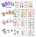 Nail art stickers Uilen 11 sheets +-220 uilen
