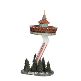 Efteling miniaturen  2019 Pagode - l16xb12,5xh29,5cm