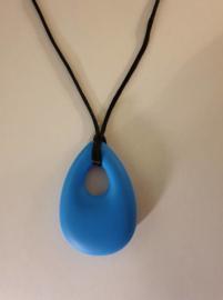 bijtsteen ketting voor moeder en kind kauw sieraden kauwsieraden Blauw