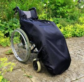 adult volwassen  Voetenzak rolstoel beenwarmer schootmobiel beenzak Wheelchair Cosy zwart adult volwassen