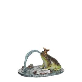 Efteling miniaturen 2019 Kikker met Kroon - l11xb7,5xh5cm