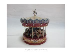 Efteling Miniaturen 2021 Anton Pieck carrousel