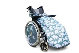 kids kinder Voetenzak rolstoeldeken rolstoel beenwarmer schootmobiel beenzak deken kinderbeenzak Wheelchair Cosy polar bear beer ijsbeer  kids
