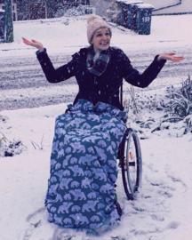 adult volwassen  Voetenzak rolstoel beenwarmer schootmobiel beenzak Wheelchair Cosy Polar Bears adult volwassen