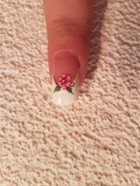 Nail art stickers bloemen roosjes 10 velletjes Nailart nagel stickers
