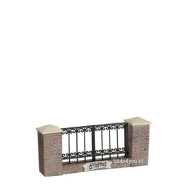 Efteling miniaturen 2019 Hekwerk - l12xb2xh5cm