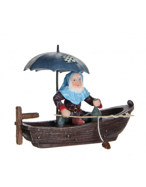 Efteling Miniatuur kabouter in de boot