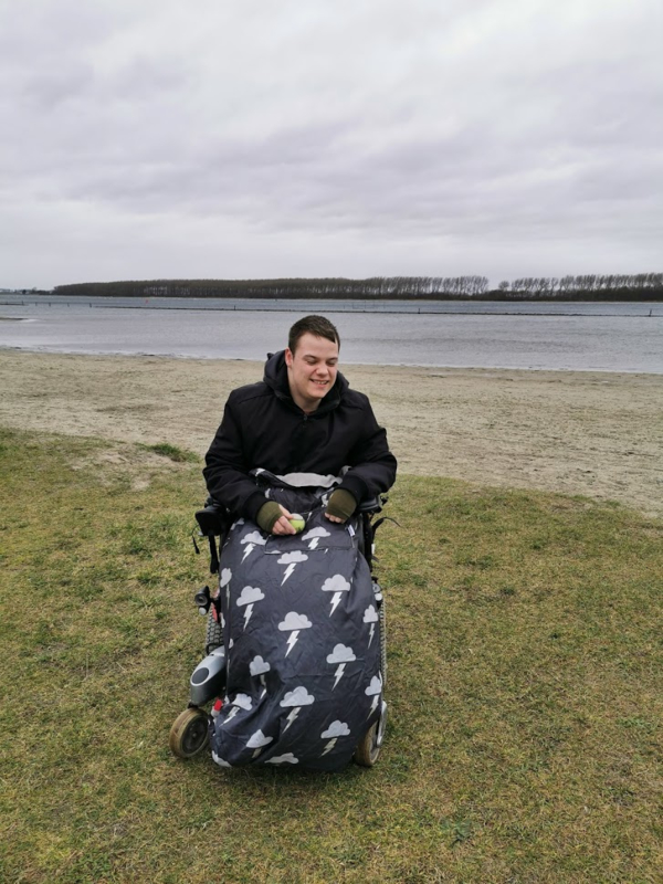 Volwassen adult Voetenzak rolstoeldeken rolstoel beenwarmer scootmobiel beenzak deken Cosy Silver LIghtning volwassen adult