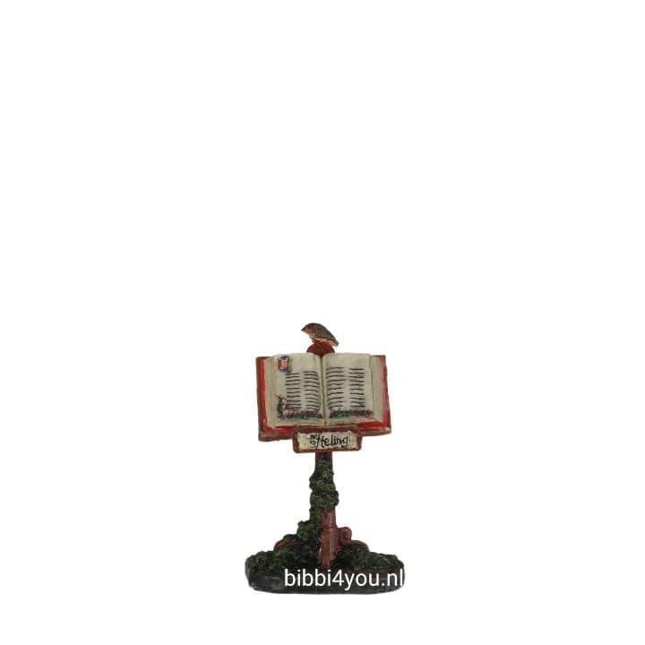 Efteling miniaturen 2019 Boek op standaard - l3xw2xh5cm