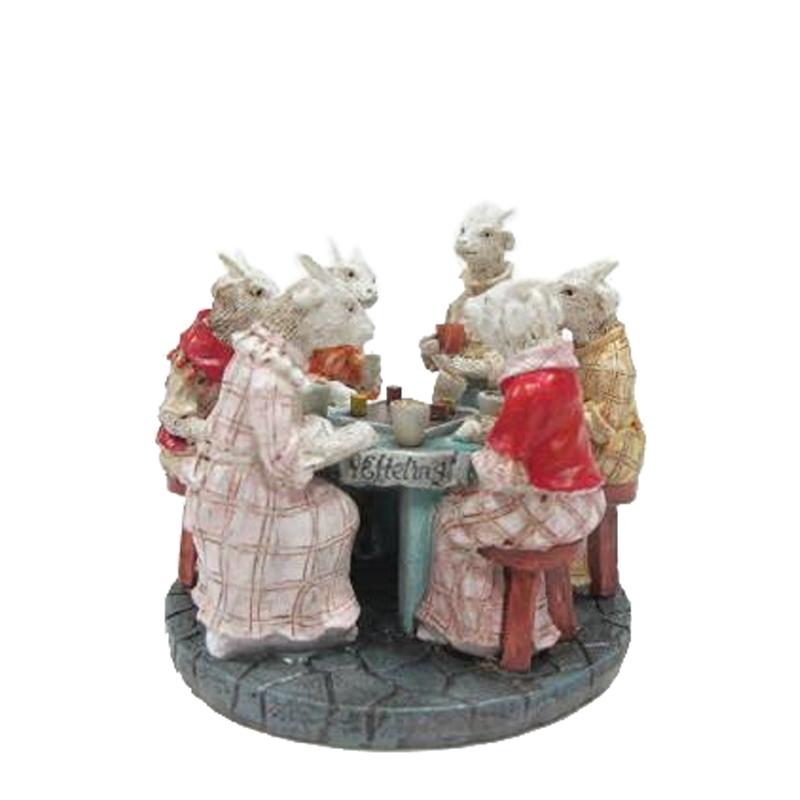 Efteling Miniaturen 2016 Zeven Geitjes aan de ronde tafel