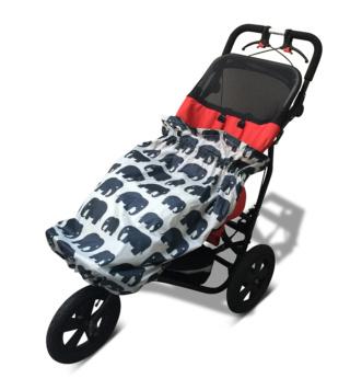 olifant regen hoes kids child rolstoel speciale buggy