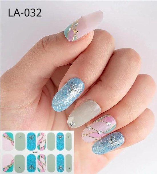 Nail art nagel stickers nagel stickers happy days LA-032