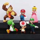 Taart Cake figuren Deze super bros Mario figuren