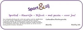 Cadeaubon/Kortingscode webshop € 15,00