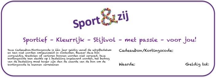 Cadeaubon/Kortingscode webshop € 50,00