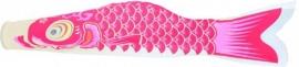 Wind-Koi Nobori roze (