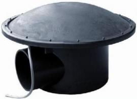 110 mm Bodemdrain met beluchtingsdeksel (