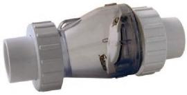 50 mm Valterra terugslagklep met 3/3 koppelingen (met veer) *