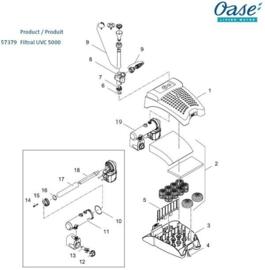 (13) Rotor kpl. ASE 2500 gemagnetiseerd